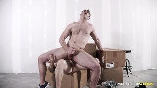 Michael Boston's Juicy Ass Pounded when he's Caught Sniffing Jock
