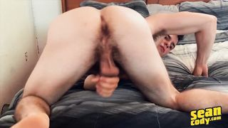 Sean Cody - Archie is Bored and Horny at Home so he Strokes his Cock while having a Dildo in his Ass