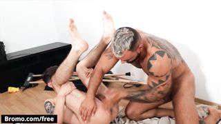 Bromo - Pizza Delivery Guy Jamie Owens didn't Expect Jerome to Fuck him as a Tip