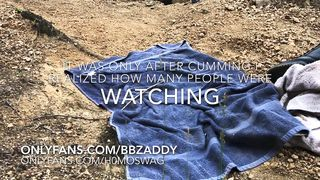Jerking for Daddy on the Nude Beach - Full Unedited Version on Onlyfans/bbzaddy